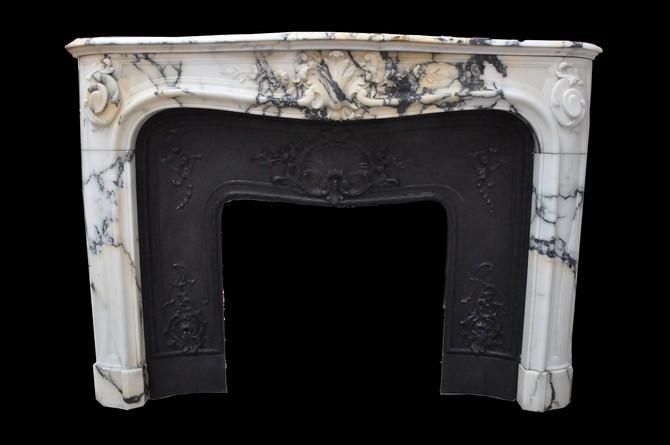 chemin e ancienne mat riaux anciens louis xv 19 eme. Black Bedroom Furniture Sets. Home Design Ideas