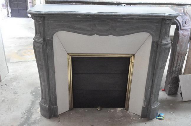 chemin e ancienne mat riaux anciens louis xv 19 eme si cle marbre achat vente. Black Bedroom Furniture Sets. Home Design Ideas